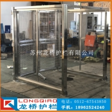 江苏自动化设备围栏 设备围栏防护 304不锈钢隔离围栏 龙桥