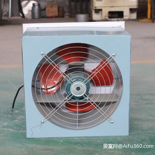 DFBZ壁式轴流风机,低噪声方形轴流风机,方形壁式轴流风机