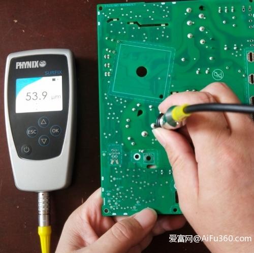 三防漆厚度测试仪器 电路板油墨测厚仪