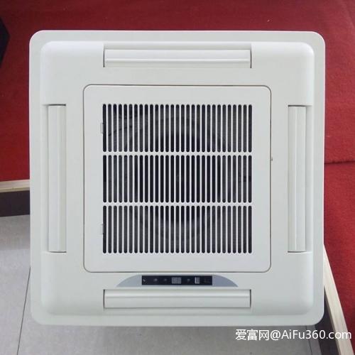 卡式四出风风机盘管 冷暖两用卡式风机盘管 中央空调天花机