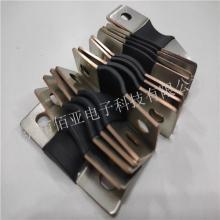 铜箔软连接焊加工 新能源电池导电连接片 跨接连接件加工