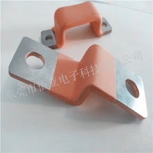 铜导电片厂家 铜箔软连接焊接加工 机械设备跨接连接片定制